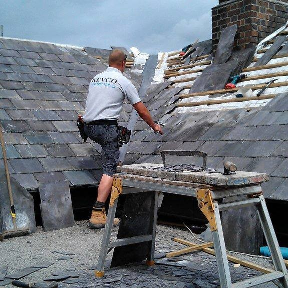 Slate Roofing North Wales